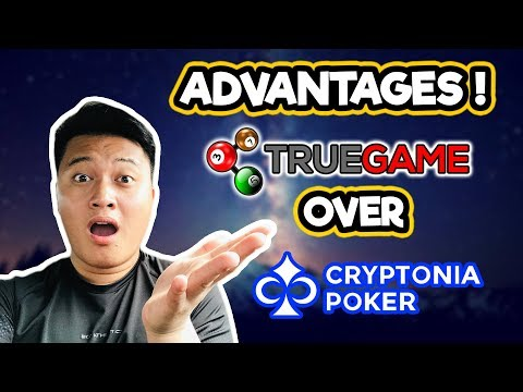 What are the Advantages of TrueGame over Cryptonia Poker ICO?