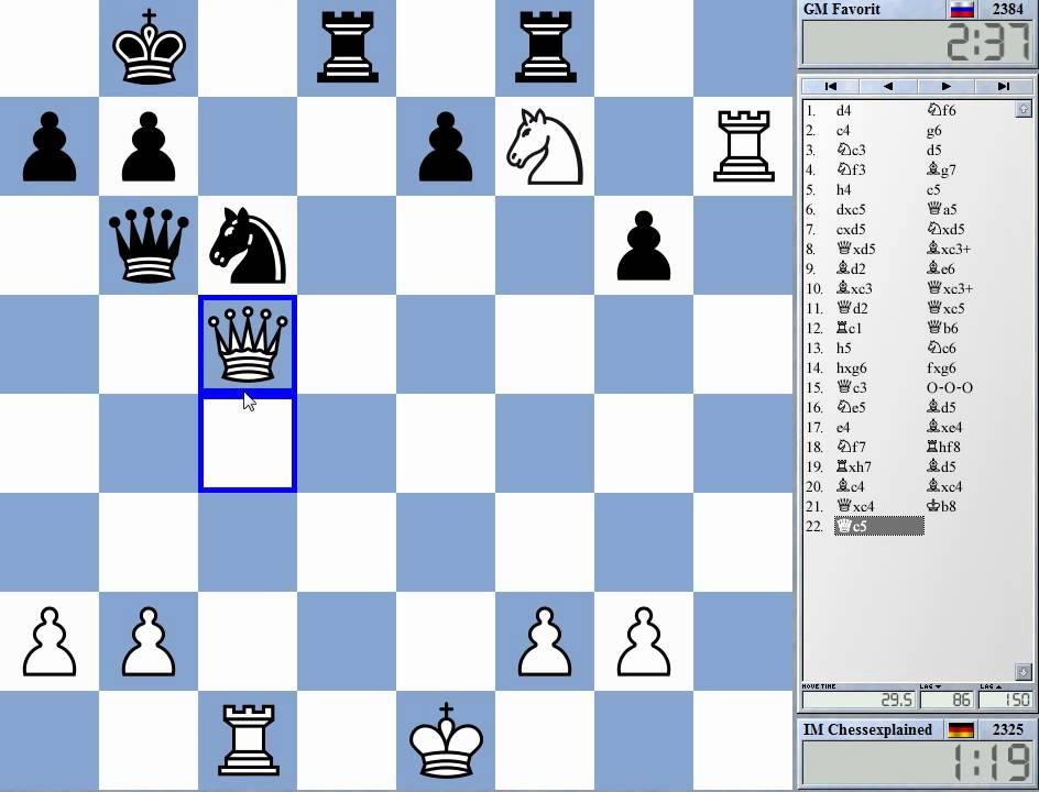 Шахматные схемы дебюта