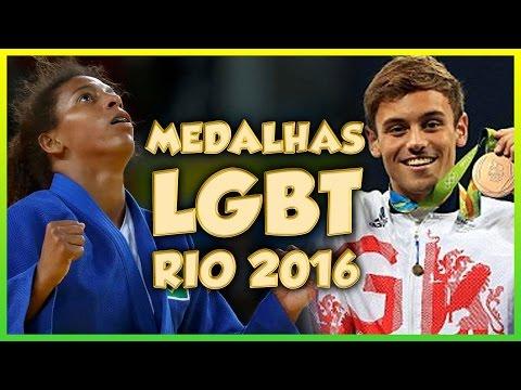 MEDALHAS LGBT OLIMPÍADAS RIO 2016 - Põe Na Roda