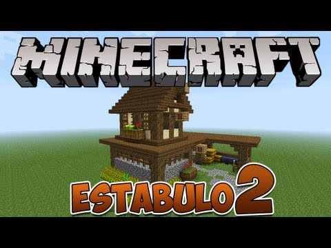 Minecraft: Como construir um estábulo 2