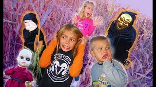 Download Lagu 24 Hours in a Haunted Corn Maze   Strange Doll Appears   Doll Maker Skit Gratis STAFABAND