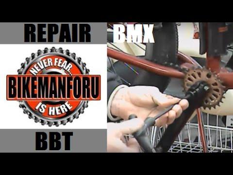 Bottom Bracket Dis-Assembly - BMX Repair -  Pedro's Pro TL Handle Hex Set - BikemanforU S4E4