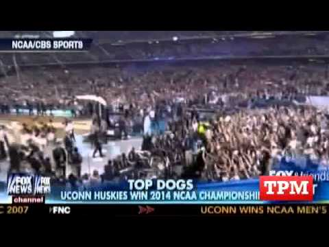 """Fox & Friends First"" Host Calls UConn ""NAACP National Champs"""