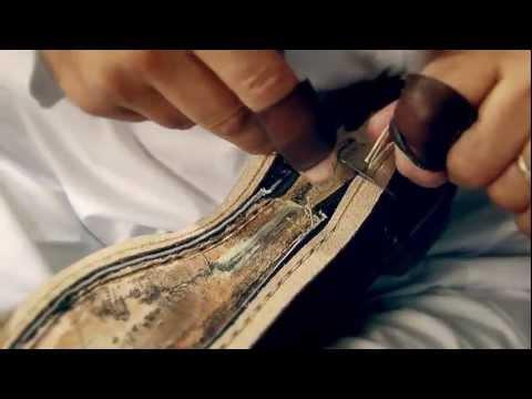 Así se hacen los zapatos de Louis Vuitton