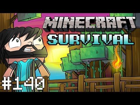 Minecraft : Survival - Part 140 - Village Train Station video