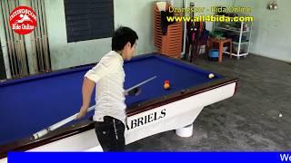 당구  Cao thủ bida phăng, bida gom - libre billiards - bida ken - American series