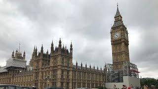 Первая поездка в Лондон