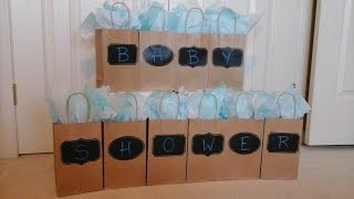 DIY Baby Shower Games - BABY SHOWER BAG Game