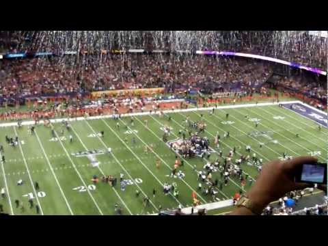 Last Play of Super Bowl XLVII Baltimore Ravens defeat San Francisco 49ers