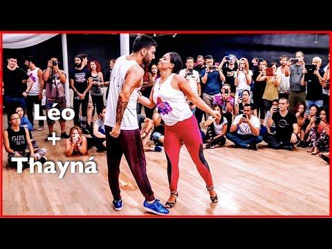 Fantastic Brazilian Zouk Dance by Thayná Trovick & Léo Chaffe in Chicago