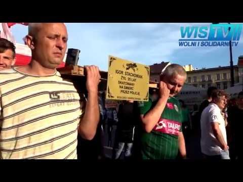 WIS TV Marsz Białych Róż - Sprawa Igora S. Wrocław 30 05 2016 Trzemeska