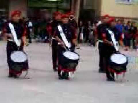 Banda de guerra lobos del cbtis 15