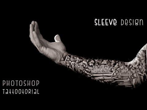 Photoshop Tutorials: Custom Tattoo Sleeve Design