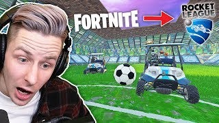 Jetzt neu: ROCKET League in FORTNITE!