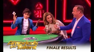 AGT Finale: Shin Lim Playing Poker Magic Will BLOW Your Mind!! | America