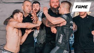FAME MMA 4: Ceremonia ważenia