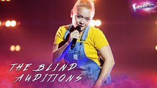 Blind Audition: Emily Green sings Edge of Seventeen X Bootylicious | The Voice Australia 2018