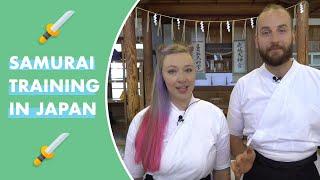Samurai Training in Japan