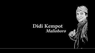Didi Kempot Malioboro