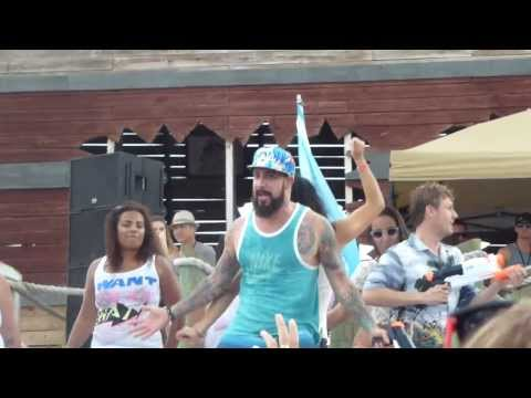 Bsb Cruise 2013- Beach Party: Wet Tshirt Contest video