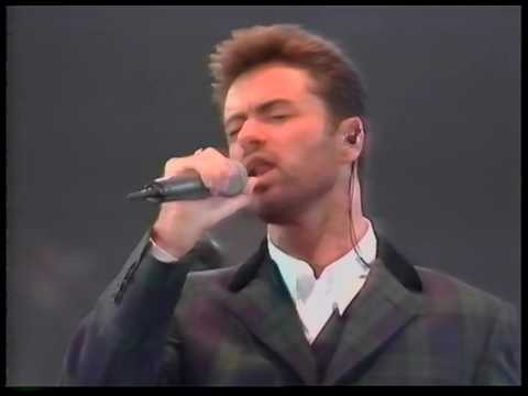 George Michael Live at Concert of Hope 1993 introduced by David Bowie