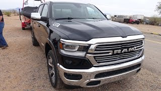 2019 Ram 1500 first drive in Arizona, trailers, off-road and fun part one.