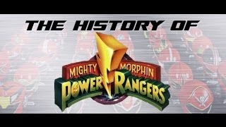 Mighty Morphin' Power Rangers Season Two - History of Power Rangers