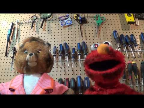 Undead Teddy Ruxpin And Elmo Cover Thrift Shop By Macklemore video