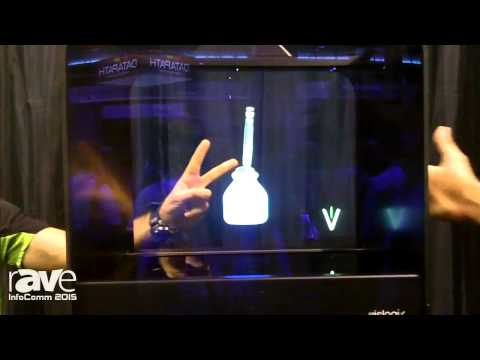 InfoComm 2015: Vislogix Demos the Holo Cube Holographic Visual Display
