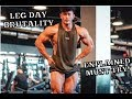 LEG DAY EXPLAINED MUST TRY! |  3 WEEKS OUT