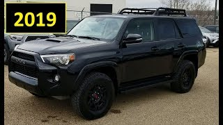 2019 Toyota 4Runner TRD Pro Review of features and walk around
