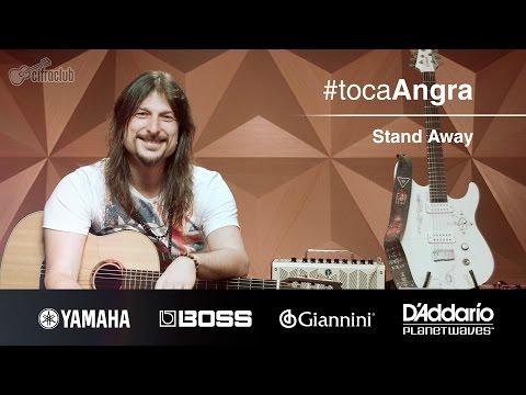#tocaAngra | Stand Away - Angra (aula de violão)
