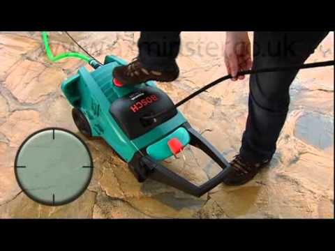 Bosch Aquatak Clic 125 Pressure Washer & Patio Cleaner