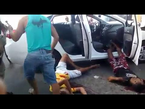 TRÊS HOMENS MORREM APÓS TROCAR TIROS COM A POLÍCIA EM SUSSUARANA