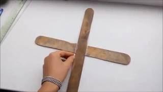 Как сделать бумеранг из линеек который возвращается
