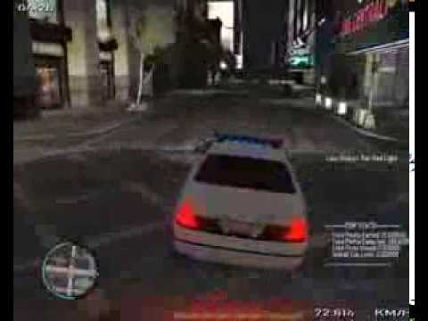 GTA IV EMERGENCY LIGHT SYSTEM AND POLICE PURSUIT MOD