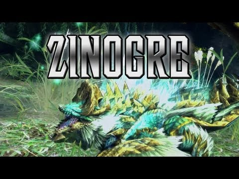 Monster Hunter - Meet the Zinogre