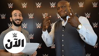WWE Superstars speaks Arabic : WWE AL AN
