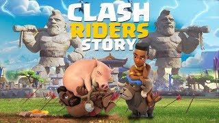 The FULL Story of the Riders - Hog Rider & Ram Rider & Royal Hogs Origin Stories | Clash Story