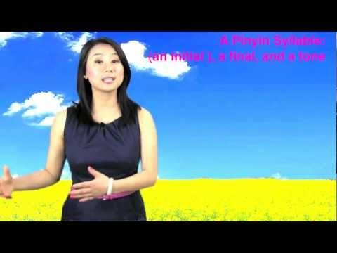 Learn the Six Pinyin Sample Finals/ Vowels: a e i o ü