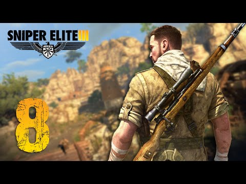 Sniper Elite 3: Afrika   Let's Play   Part.8 - FRANCOTIRADORES!