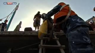 لاجئون يمنيون يصلون إلى جيبوتي