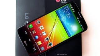"LG G2 - самый мощный смартфон с с 5,2"" IPS Full HD экраном - видео обзор"