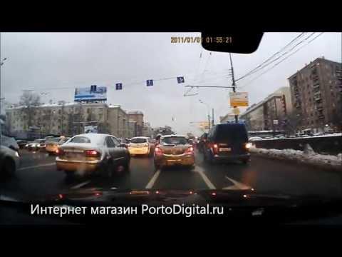 Видеорегистратор Subini DVR HD-205 (день) Portodigital.ru