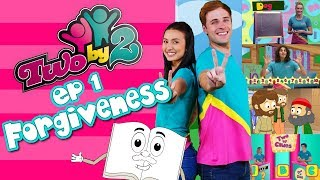 Bible TV show for kids! TWO BY 2 - EP 1 - FORGIVENESS - Songs, messages, activities and more!