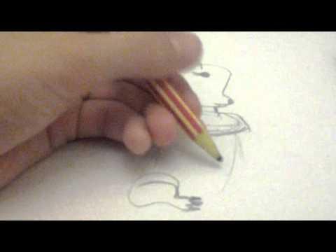Видео как нарисовать песца карандашом