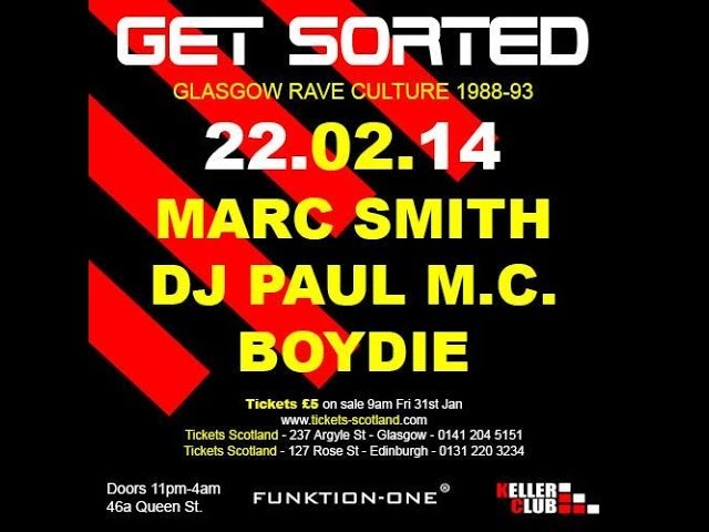 Get Sorted - Keller Club - DJ Marc Smith