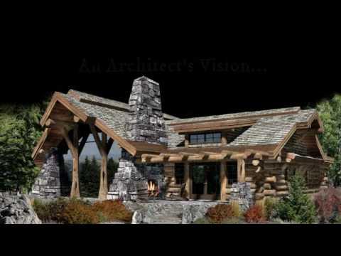 Award Winning Caribou Log Home Plan Inspires Homes Across