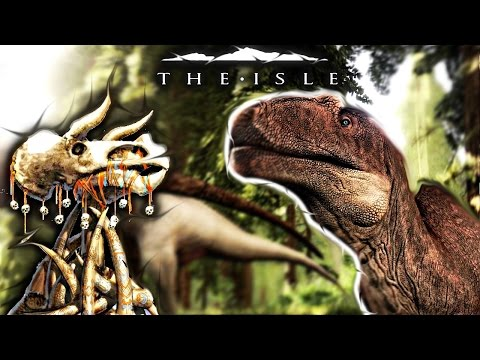 The Isle - VELOCIRAPTOR HUNTING, ALLO PROGRESSION FAIL & COLORED TOTEM CONCEPT ( Gameplay )