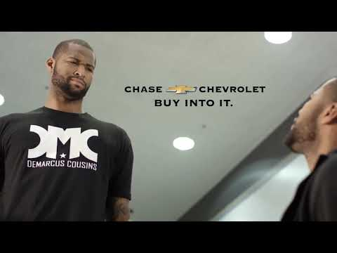 DeMarcus Cousins Commercial Chase Chevrolet